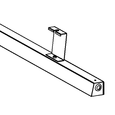 Threaded rod bracket