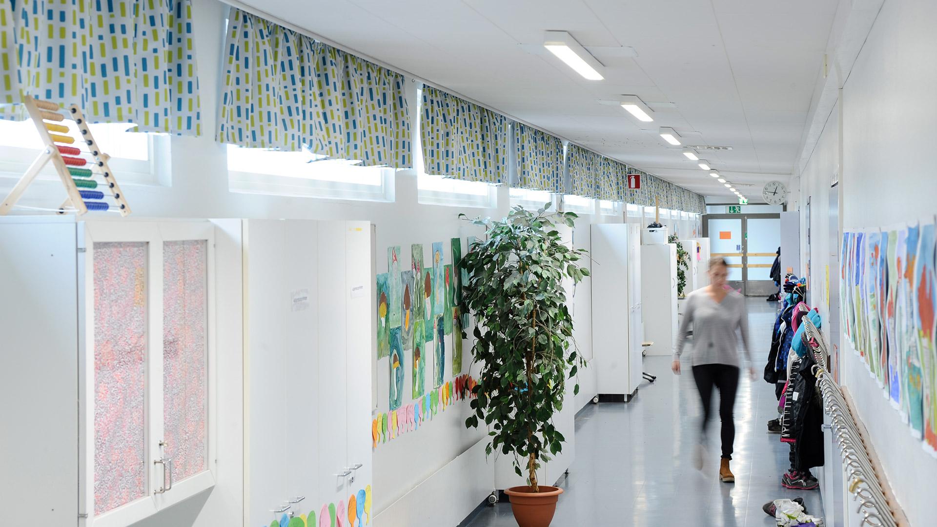 Nuottasaaren koulu Oulu